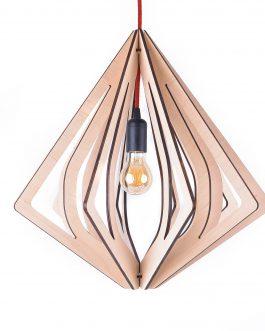 Lampa wisząca LED w stylu skandynawskim