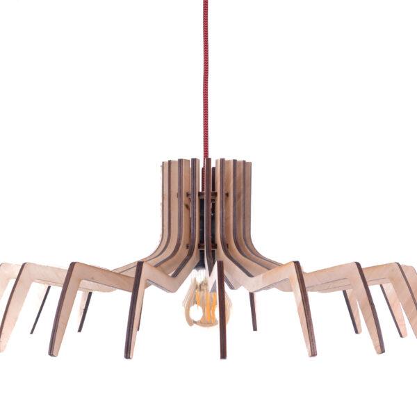 lampa wisząca design ze sklejki