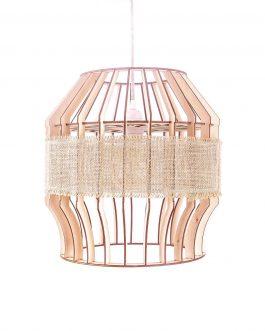 NOWOCZESNA lampa do KUCHNI z drewna w stylu SKANDYNAWSKIM