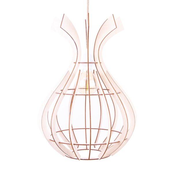 modernistyczna lampa do salonu