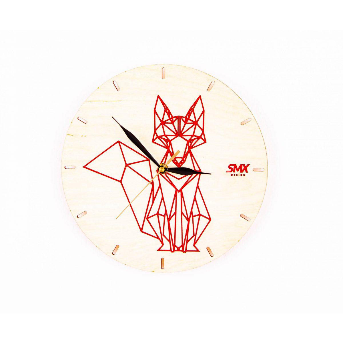 Zegar ścienny malowany