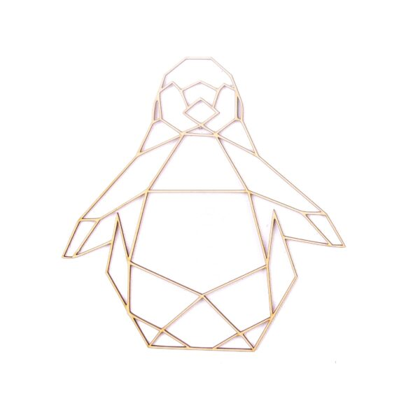 ozdoby na ścianę - PINGWIN