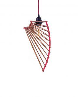 Nowoczesna lampa skandynawska ze sklejki