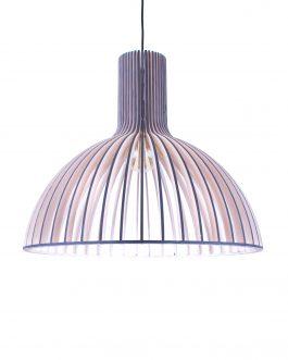 Lampa LED do salonu na zamówienie w kolorze ANTRACYTU