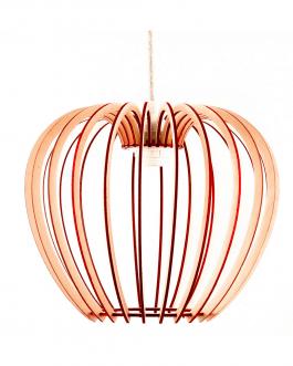 Kolorowa lampa DO POKOJU ze sklejki – NOWOCZESNA