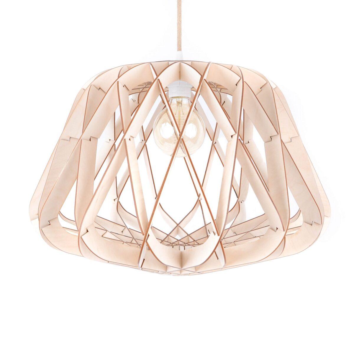nowoczesna lampa geometryczna