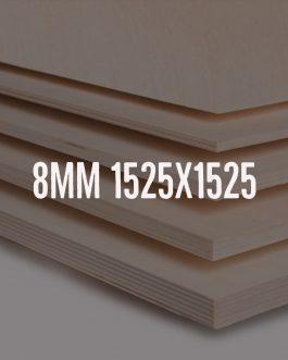 Sklejka brzozowa kl. 2/2 – formatka 1525x1525mm