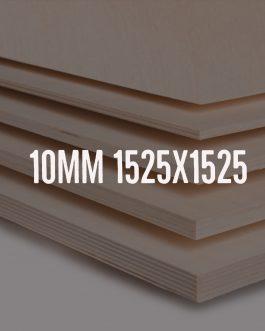 Sklejka brzozowa 10mm kl. 2/2 – formatka 1525x1525mm