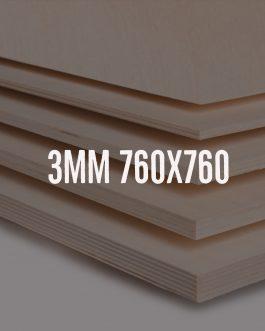 Sklejka brzozowa kl. 2/2 – formatka 760x760mm