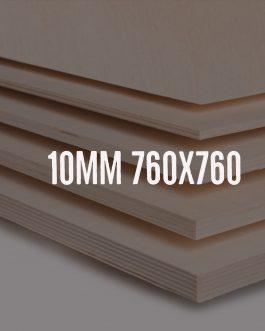 Sklejka 10mm brzozowa kl. 2/2 – formatka 760x760mm
