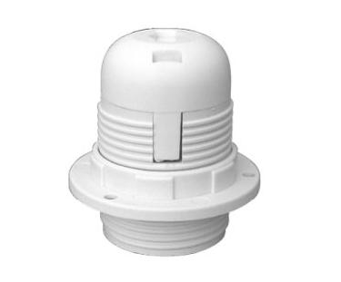Oprawa do lampy E27 - biała
