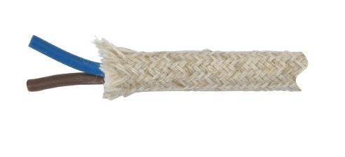 Kabel w oplocie jutowym