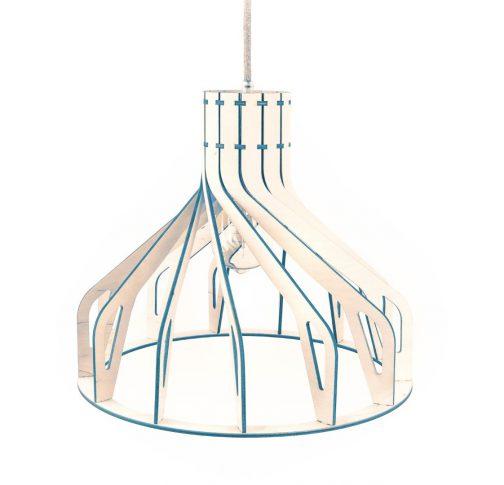 lampa w kolorze morskim