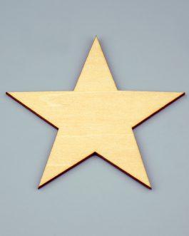 Drewniane GWIAZDKI ze sklejki 100szt – 20x20mm