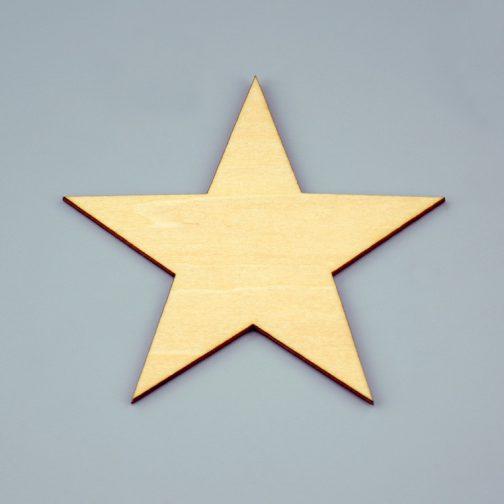 drewniane gwiazdki