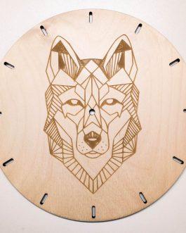 Zegar GEOMETRYCZNY – idealny prezent dla miłośników zwierząt!