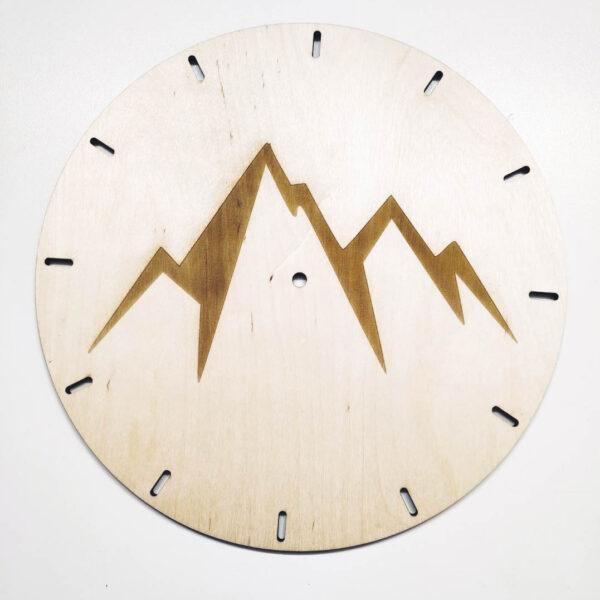 Zegar ścienny z grawerem