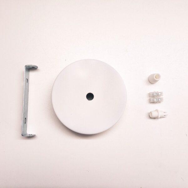 podsufitka metalowa biała