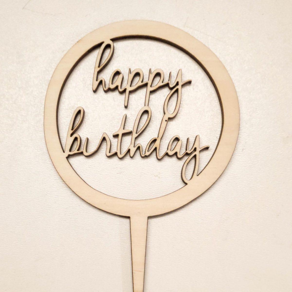 topper urodzinowy