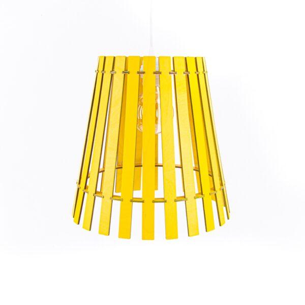 żółta lampa