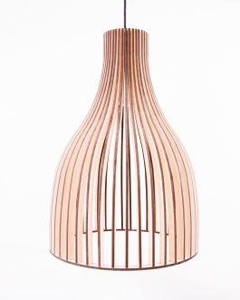 Drewniana lampa DO KUCHNI ze sklejki w skandynawskim stylu