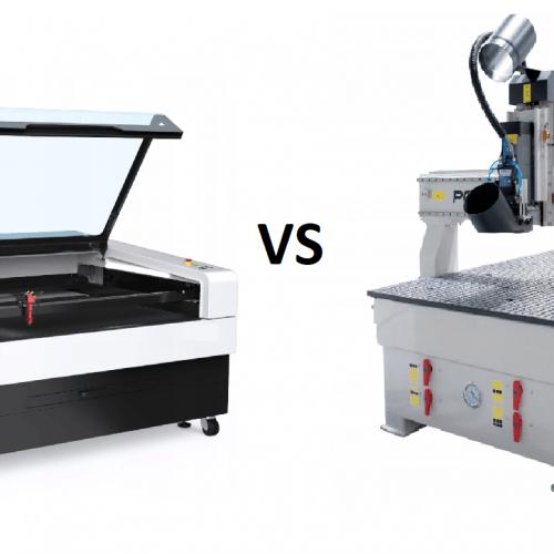 PLOTER CNC VS LASER CO2