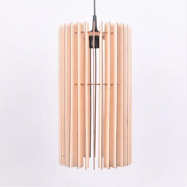 lampa sufitowa drewno