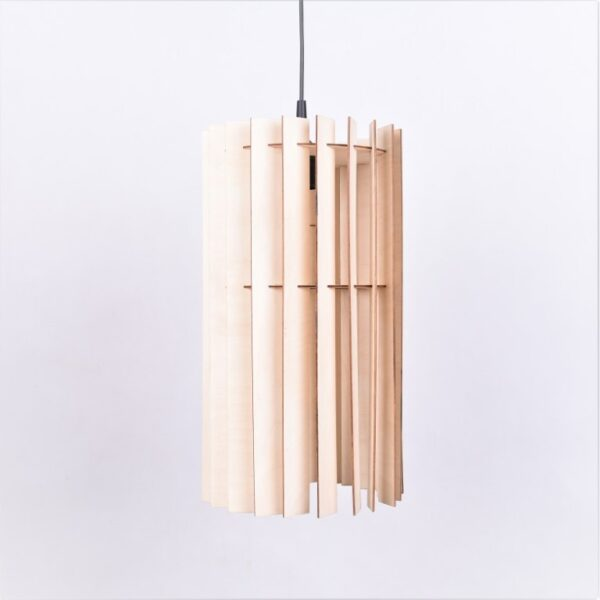lampa loft drewno