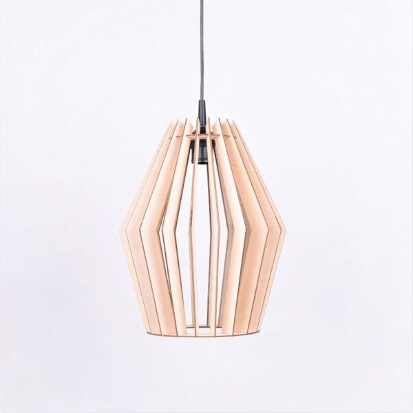 lampa wisząca drewno