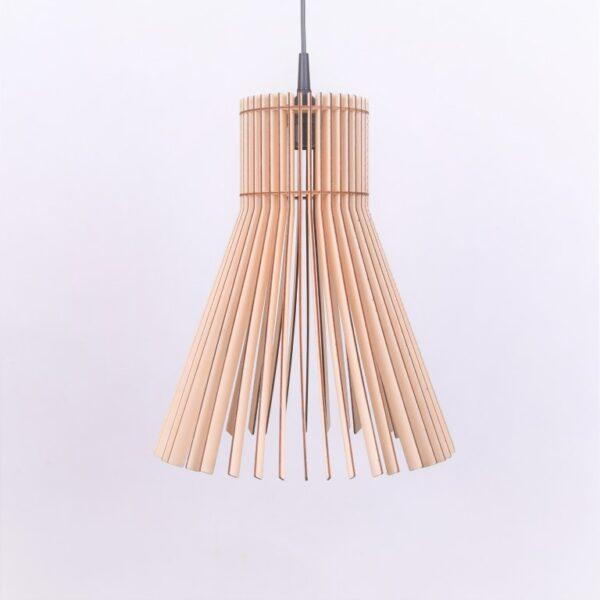 lampa drewno